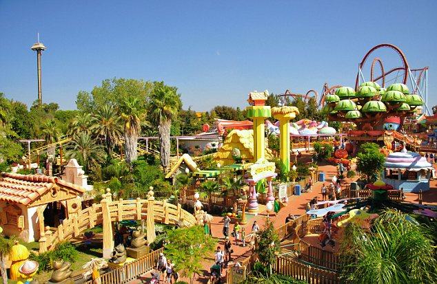 SesamoAventura, PortAventura Theme Park, Salou, Costa Daurada, Province of Tarragona, Catalonia, Spain. Image shot 2011. Exact date unknown.